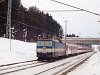 A 363 093-6 egy Pozsony-Kassa gyorsvonattal Csorba megállóhelyen (Štrba zastávka, Szlovákia)