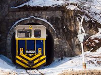 The new Mk48 2021 hybrid diesel-electric locomotive at the second tunnel by Lillaf�red