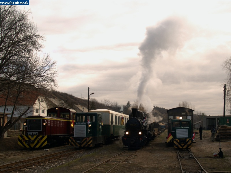 Mozdonykiállítás fotó