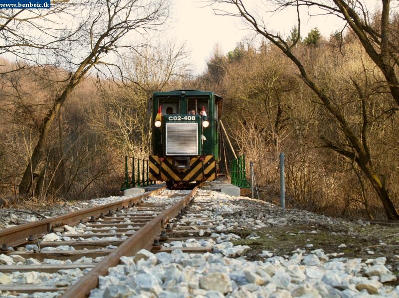 C02-408 a Szinva patak új hídján fotó