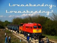 Szergej a Bicske-Székesfehérvár vasútvonalon fotósvonattal