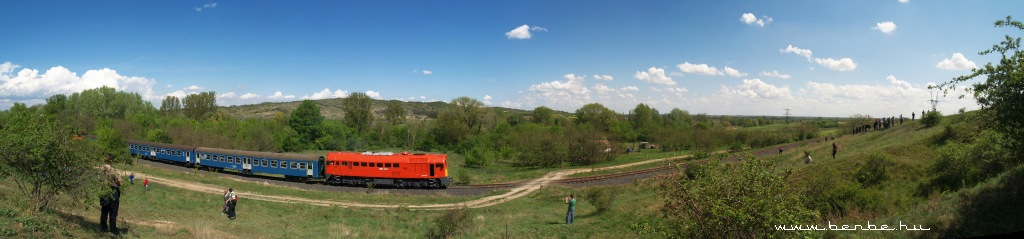 A panoramic image of the M62 224 at the Pákozd fotosite photo
