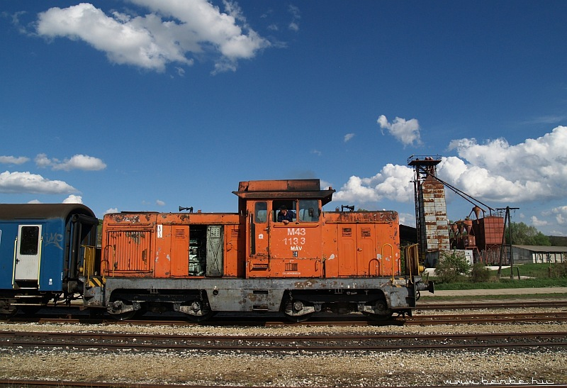 The M43 1133 at Lovasberény photo