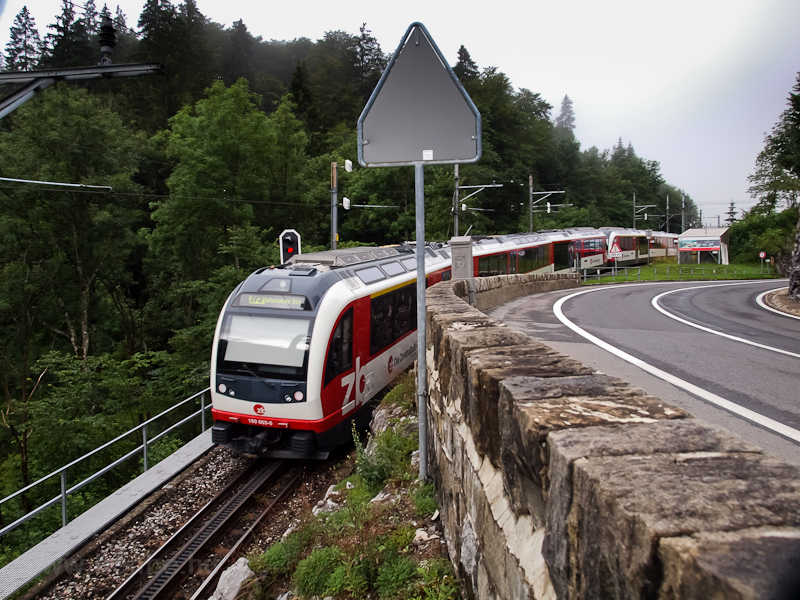 The Zentralbahn ABeh 160 00 photo