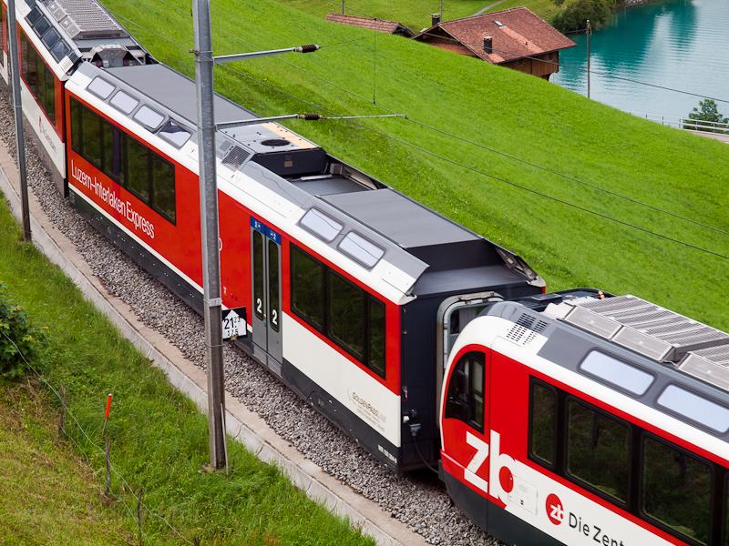 A Zentralbahn ABeh 150 104- fotó
