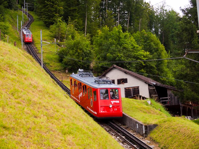 A Pilatusbahn (PB) Bhe 1/2  fotó