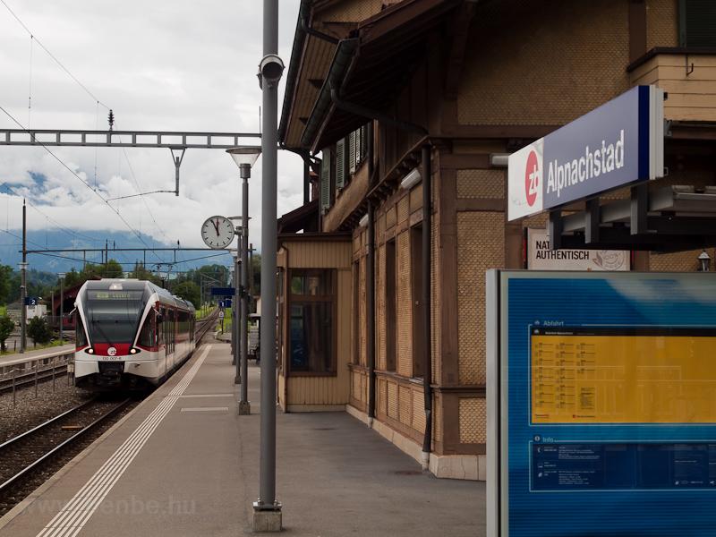 A Zentralbahn SPATZ ABe 130 fotó