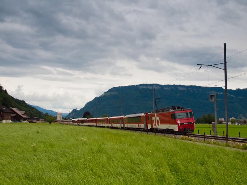A Zentralbahn HGe 4/4 II  1 fotó