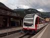 The Zentralbahn ABeh 160 001-1 seen at Meiringen