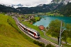 The Zentralbahn ABeh 150 203-4 seen between Kaiserstuhl OW and Lungern