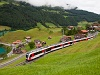 The Zentralbahn ABeh 150 203-4 seen between Kaiserstuhl OW and Lungern