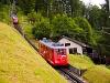 A Pilatusbahn (PB) Bhe 1/2 22 Aemsigen és Alpnachstad között