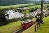 A Pilatusbahn (PB) Bhe 1/2 23 Aemsigen és Alpnachstad között