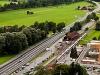 Egy megerősített Zentralbahn Luzern-Interlaken-Express érkezik Alpnachstadba (FINK+ADLER)