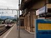A Zentralbahn SPATZ ABe 130 007-8 Alpnachstad állomáson