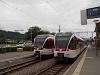 A Zentralbahn SPATZ ABe 130 009-4 & 007-8 Alpnachstad állomáson