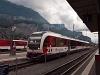 A Zentralbahn ABeh 160 001-1 Meiringen állomáson