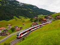 A Zentralbahn ABeh 150 104-4 Kaiserstuhl OW és Lungern között