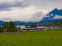 Egy ismeretlen Zentralbahn ABReh 150  Ewil Maxon és Giswil között
