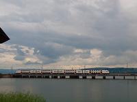 Egy ismeretlen SBB RABDe 514 Pfäffikon SZ és Rapperswil között