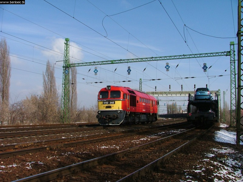 M62 265 Ferencvárosnál fotó