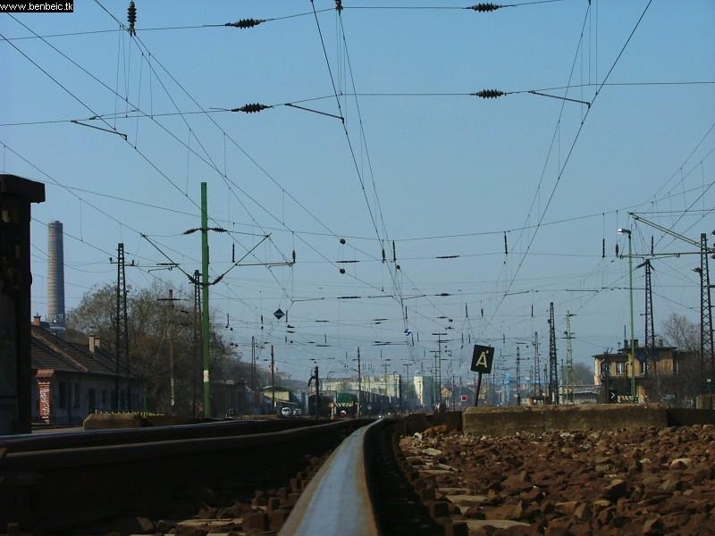 Józsefvárosi sín fotó