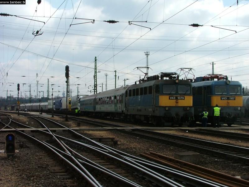 V43 1079 és egy érdekes Ro-La Ferencvárosban fotó