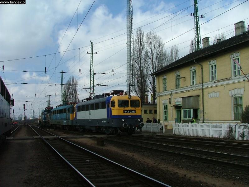 V43 2260 és társai Ferencvárosban fotó