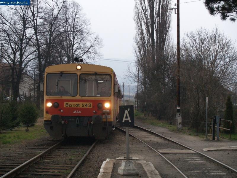 Bzmot 243 érkezik Nógrádba fotó