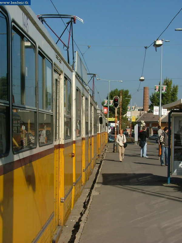 ICS-tumultus a Vörösvári úti végállomáson fotó