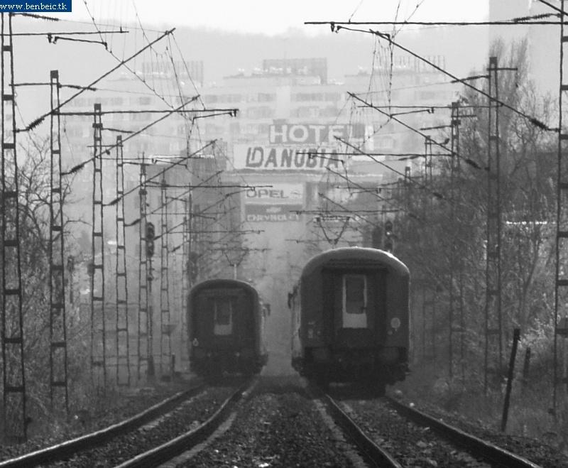 Vonatverseny Kelenföldön fotó
