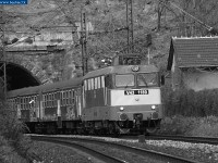 The V43 1189 near the tunnel of D�li p�lyaudvar