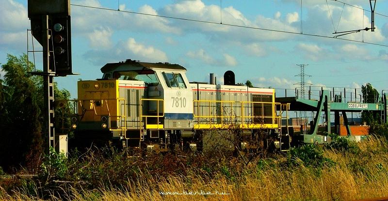 A 7810-es Gent-Hafennél fotó