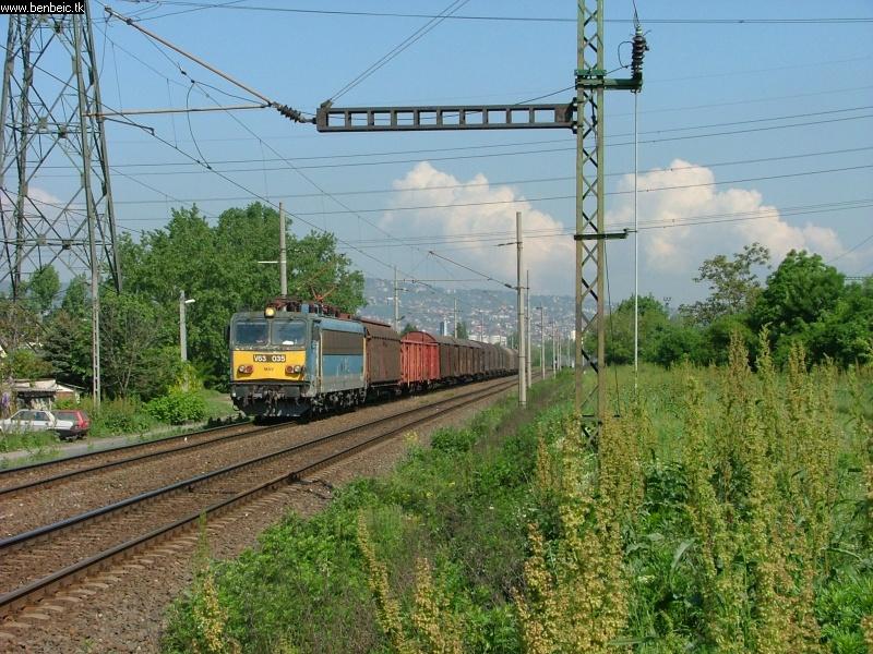 V63 035 Budafoknál fotó