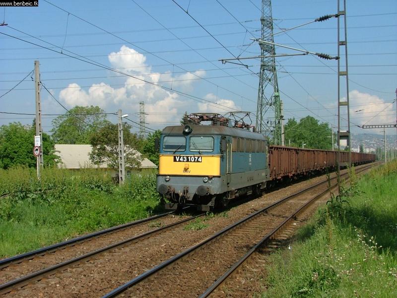 V43 1074 Budafoknál fotó