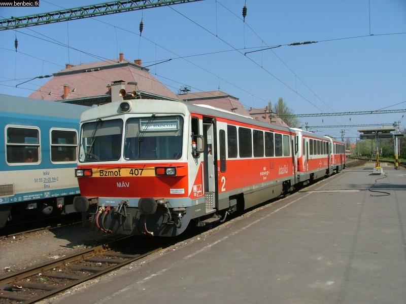 Bzmot 407 Szegeden fotó