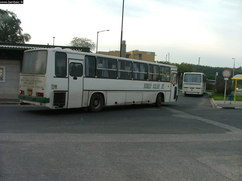Vonatpótlás Veszprémben fotó