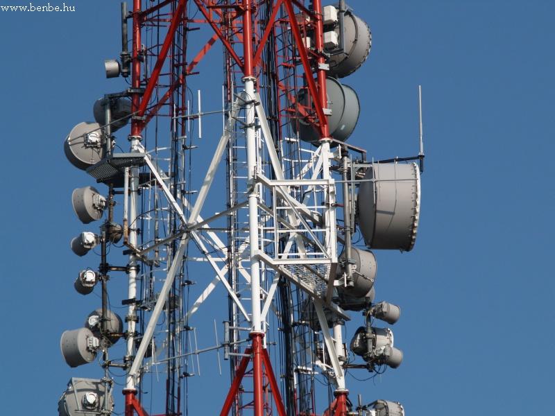 Egy közelkép a korábbi antennáról fotó