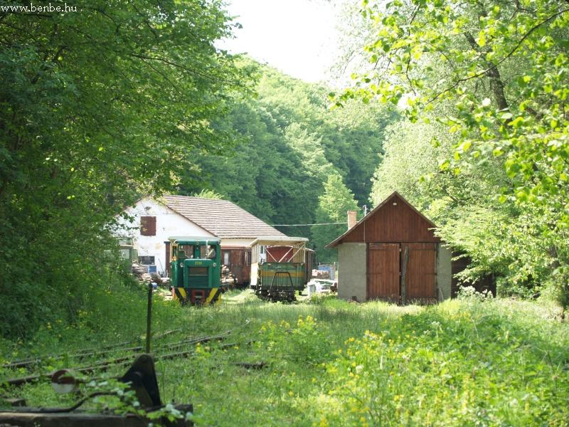 A kisvasúti fûtõház Nagybörzsöny határában fotó