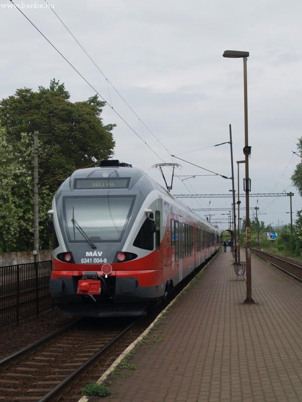 FLIRT érkezett Budafok-Belváros megállóba fotó