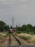 The 6342 017-8 between Óbuda station and Üröm stop