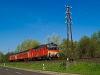 The MÁV-START MDmot 3038 seen between Poroszló and Tiszafüred