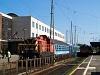 A MÁV-START M44 410 és a Btx 036 Debrecen állomáson