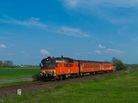 A MÁV-START MDmot 3024 Kismarja és Konyári Sóstófürdő között