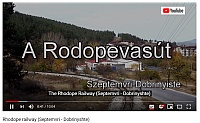 [VIDEO] The Rhodope Railway in Bulgaria from Septemvri to Dobrinyshte