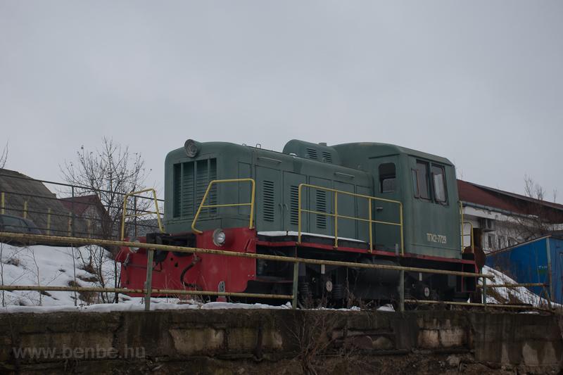 A TGK2 7729 (ТГК2-7729) Dornesti állomáson fotó