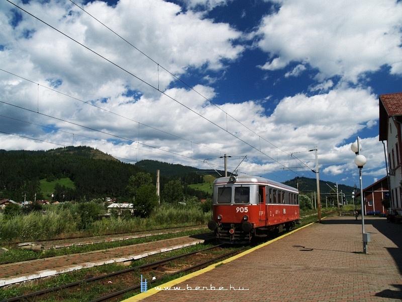 A 905-ös Malaxa Kimpolungban fotó