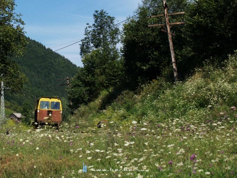 PFT kiskocsi Alsóvisó és Visóvölgy között fotó