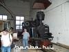 Gőzmozdony Felsővisón a fűtőházban