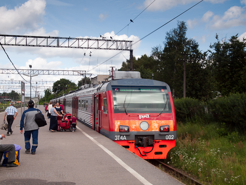 The RŽD ET4A 002 seen  photo